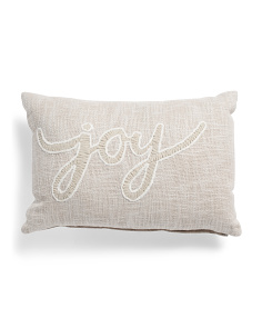 14x20 Joy Pillow