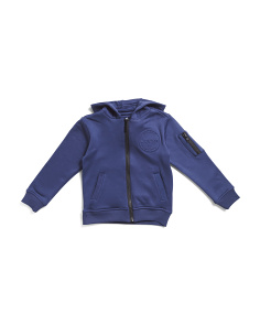 Little Boys Core Zip Up Hoodie