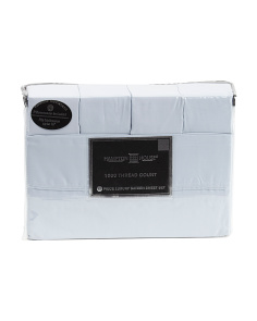 6pc 1000tc Cotton Rich Sheet Set
