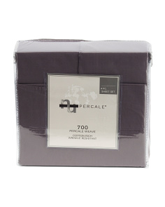 700tc Cotton Rich Percale Sheet Set