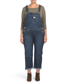 Plus Easy Dark Overalls