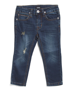 Little Boys Jagger Knit Jeans