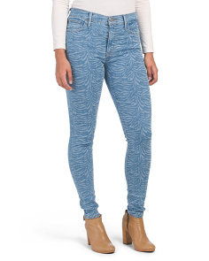 Juniors 720 Hi Rise Super Skinny Jungle Jeans