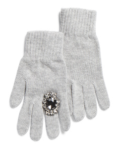 Made In Italy Pearl Gem Gloves