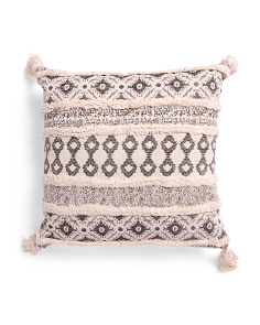 20x20 Aztec Jacquard Pillow