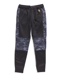 Little Boys Camo Tech Fleece Joggers