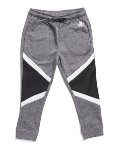 Little Boys Color Block Tech Fleece Joggers