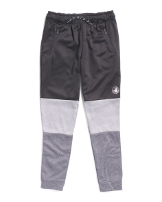 Little Boys Color Block Joggers