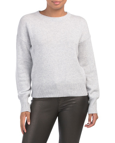 Drop Shoulder Cashmere Sweater