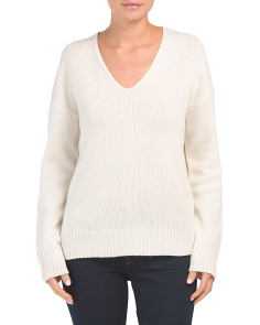 Relaxed Soft Cashmere Sweater