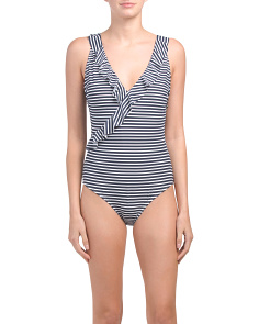 Torino Stripe One-piece Swimsuit