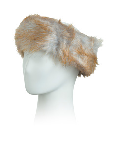 Faux Fur Headband Scarf