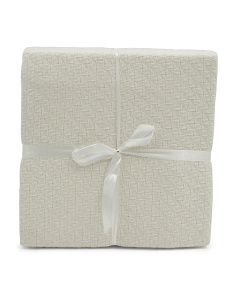 Square Look Cotton Blanket