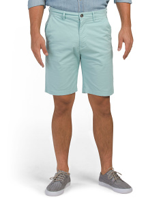 Fine Stretch Twill Chino Shorts