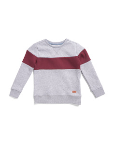 Little Boys Fleece Pullover Top