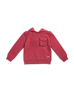 Little Boys Fleece Pullover Hoodie