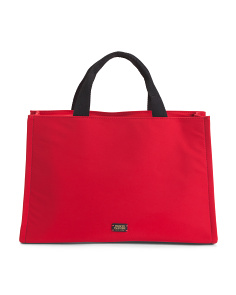 Kate Nylon Short Handle Shopper Tote