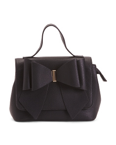 Bow Front Convertible Satchel