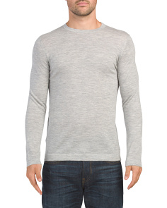 Cashmere Lievos Crew Neck Sweater
