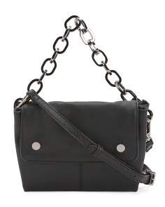 Leather Dante Small Convertible Crossbody