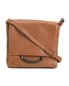 Leather Montreal Mini Foldover Crossbody
