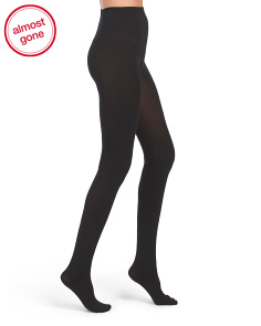 Cotton Blend Velvet Tights