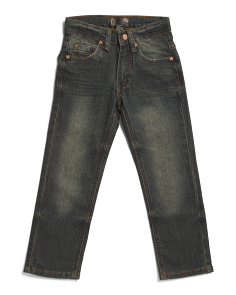 Little Boys Stretch Jeans
