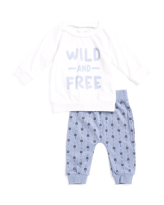 Baby Boys Tee And Pant Set