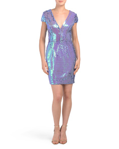 Zoe Sequin Dress