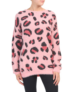 Juniors Australian Designed Leopard Sweater