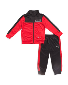 Little Boys 2pc Jogger Set With Track Jacket