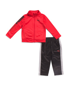 Little Boys 2pc Pant Set With Track Jacket