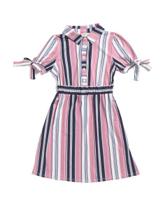 Big Girls Striped Dress