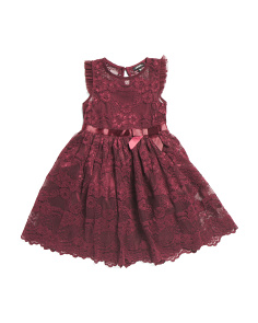 Little Girls Lace Special Occasion Dress