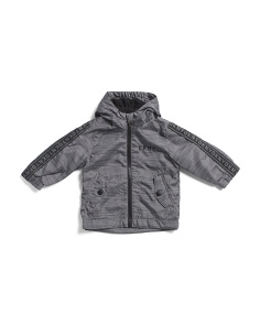 Toddler Boys Fleece Lined Jacket