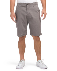 Monroe Flex Waistband Stretch Twill Shorts