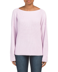 Millie Mozart Boat Neck Sweater