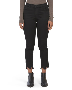 Ruby High Rise Crop Cigarette Jeans