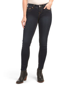 Halle Mid Rise Skinny Jeans