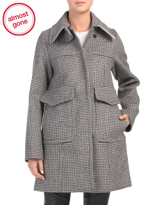 Wool Blend Formal Coat