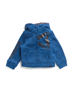 Toddler Boys Sherpa Lined Jacket