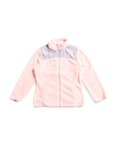 Big Girls Fleece Zip Up Jacket