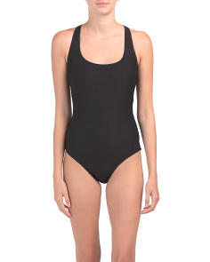 Made In Usa Clean Slate One-piece Swimsuit
