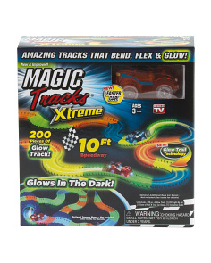 Glow In The Dark Extreme Race Track Set