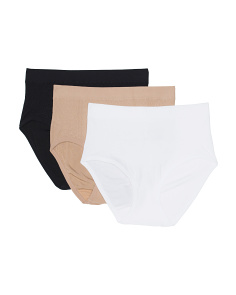 3pk Ariel Natural Waist Shaping Briefs