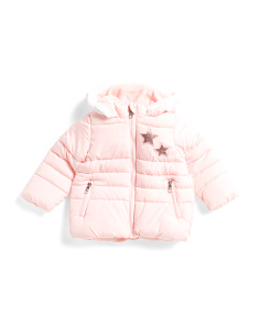 Infant Girls Puffer Jacket