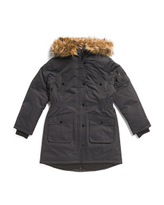 Big Girls Heavyweight Parka