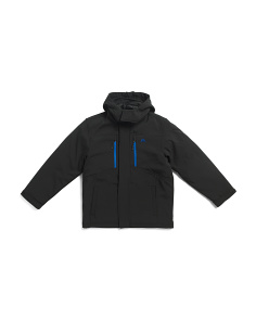 Big Boys Softshell Hooded System Jacket