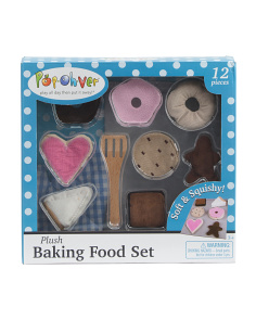 12pc Plush Food Donuts & Pastries