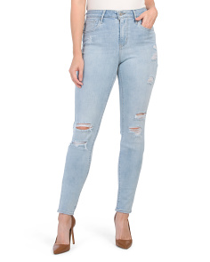 Juniors 721 High Rise Skinny Rock The Boat Jeans